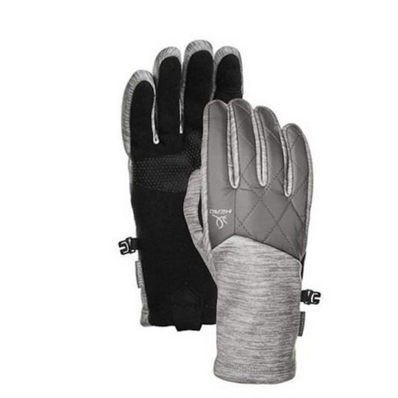 HEAD Men/'s Black Hybrid Sensatec Touchscreen Warm Fleece Lined Gloves Small NWT